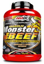 Amix Anabolic Monster BEEF 90% Protein, vanilla-lime, 1000g