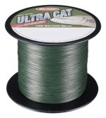 Berkley splétaná šňůra ultra cat green 1 m 0,40 mm 60 kg