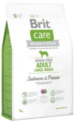 Brit Care Grain-free Adult Large Breed Salmon & Potato 3kg