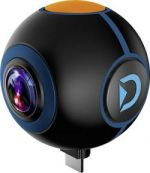 Discovery Adventures HD 720P 720° Android Action Camera Spy, černá