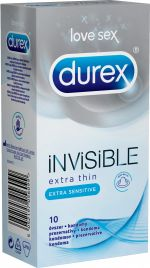 DUREX Invisible Extra Sensitive kondomy (10 ks)
