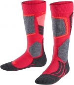 Falke SK2 Kids Skiing Knee-high Socks - rose 27-30
