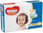 HUGGIES® Ultra Comfort Jumbo 4+ (10-16 kg) 46 ks