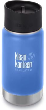 Klean Kanteen Insulated Wide w/Café Cap 2.0 - pacific sky 355 ml