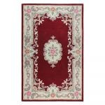 Koberec z vlny Flair Rugs Aubusson Red, 160 x 230 cm
