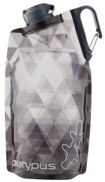 Láhev Platypus DuoLock SoftBottle Gray Prisms 0,75 l