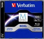 M-DISC Blu-ray 100 GB Verbatim v balení Jewelcase, 98912, 1 ks