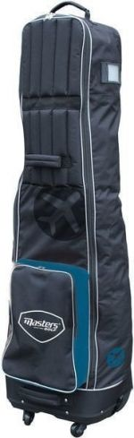 Masters Golf Deluxe 4 Wheeled Flight Cover Black/Blue