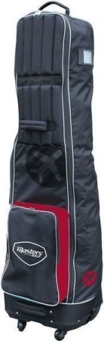 Masters Golf Deluxe 4 Wheeled Flight Cover Black/Red