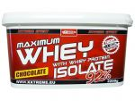 Maximum Whey Protein Isolate 92 - 1000g 1000g, jahoda