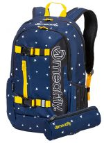 Meatfly Batoh Basejumper 5 K-Birds Navy, Black