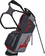 Mizuno BR-D3 Grey/Red Stand Bag