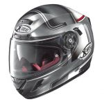 Moto helma X-lite X-702GT Ofenpass N-Com Barva Scratched Chrome, Velikost L (59-60)