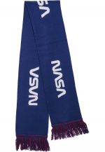 Mr. Tee NASA Scarf Knitted blue/red/wht - UNI