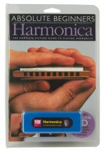 MS Absolute Beginners: Harmonica (Compact Edition) - Book/CD/Instrument Pack