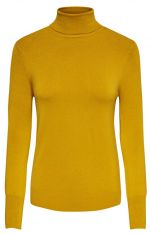 ONLY Dámský svetr ONLVENICE L/S ROLLNECK PULLOVER KNT NOOS Golden Yellow S