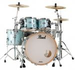 Pearl MCT924XEFP/C414 Masters Maple Complete - Ice Blue Oyster Limited Edition