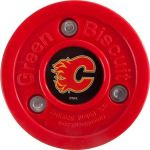 Puk Green Biscuit Calgary Flames