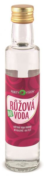 Purity Vision Růžová voda BIO 250 ml