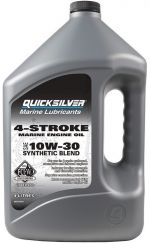 Quicksilver FourStroke Outboard Engine Oil - Synthetic Blend 10W30L 4L
