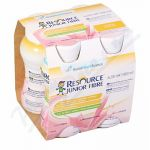 RESOURCE JUNIOR FIBRE JAHODA perorální SOL 4X200ML