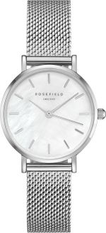 Rosefield The Small Edit White Silver