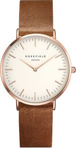 Rosefield The Tribeca White-Brown-Rosegold