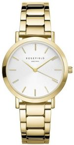 Rosefield The Tribeca White Sunray Steel Gold TWSG-T61