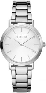 Rosefield The Tribeca White Sunray Steel Silver TWSS-T62