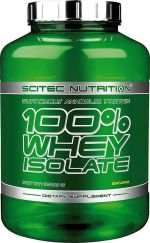 Scitec 100% Whey Isolate 2000 g 2000g, jahoda