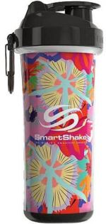 Šejkr Smart Shake Double Wall 750ml Tropical Red