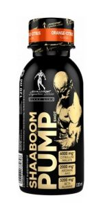 Shaaboom Pump Shot - Kevin Levrone 120 ml. Grapefruit Lime