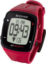 Sigma Sporttester iD.RUN HR rouge