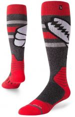 Stance Crab Grab Red M