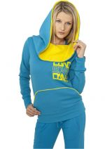 Urban Dance Big Cap Fleece blue - S