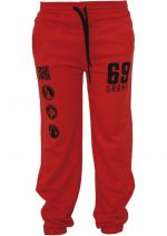 Urban Dance Dance Jogging Pant red/blk - XS