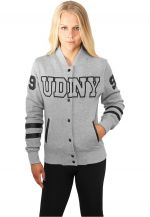 Urban Dance UDNY College Jacket gry/blk - XS