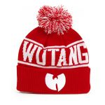 Wu-Tang Logo Winter Cap Red White - UNI