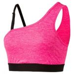 YOGINI One Shoulder KNOCKOUT P | 515149-03 | Růžová | S